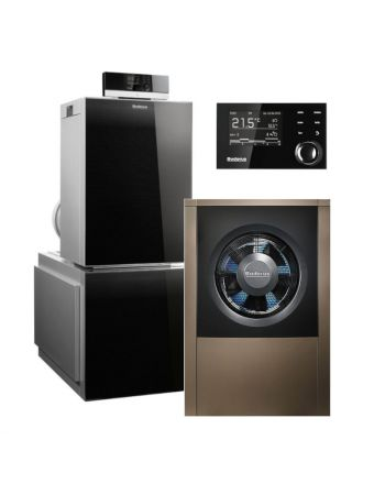 BUDERUS | Hybridsystem | Gas-Brennwertkessel + Wärmepumpe | Logasys SL213.2