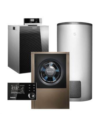 BUDERUS | Hybridsystem | Gas-Brennwertkessel + Wärmepumpe | Logasys SL213.3