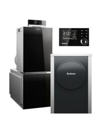 BUDERUS | Hybridsystem | Gas-Brennwertkessel + Wärmepumpe | Logasys SL213.5
