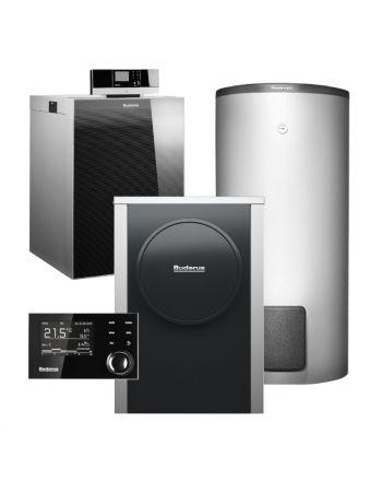 BUDERUS | Hybridsystem | Gas-Brennwertkessel + Wärmepumpe | Logasys SL213.8
