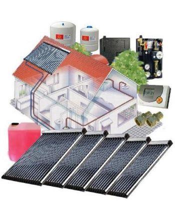 Solarpaket WT-B/22 Röhrenkollektorset 22-5 mit 18,80 m² Westech Solar