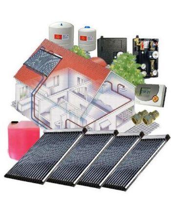Solarpaket WT-B/22 Röhrenkollektorset 22-4 mit 15,04 m² Westech Solar