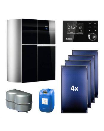 BUDERUS | Hybridsystem | Gas-Brennwertgerät + Solar | Logasys SL136.4