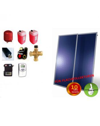 Solardual- Solarpaket Standard (4,84m²) mit Flachkollektoren
