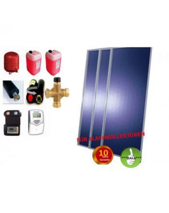 Solardual- Solarpaket Standard Plus (7,26m²) mit Flachkollektoren