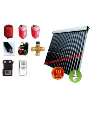 Solardual Solarpaket Standard Plus 7,28 m² mit Vakuumröhrenkollektoren