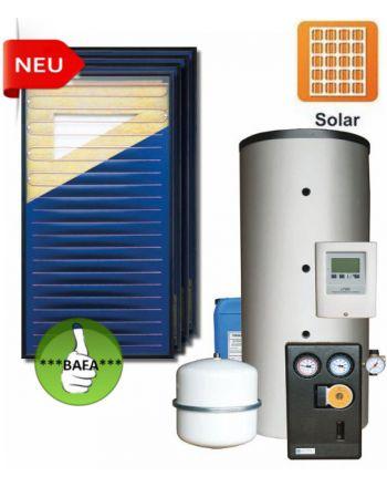 STI Solarset Fritz 10,08 m² | 600 ltr. Speicher | + Ausdehnungsgefäß