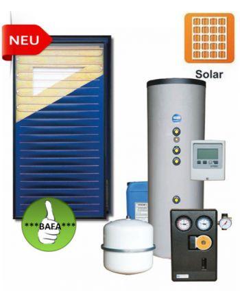 STI Solarpaket Oskar 4,26m² Bruttofläche 300 Liter-Aufdach