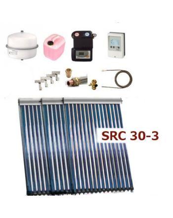 Solarpaket Thermoflux SRC 30-3 mit Vakuumröhrenkollektoren mit 13,65m²