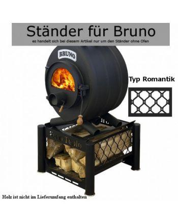 Ständer III unter den Ofen BRUNO Pyro I-V