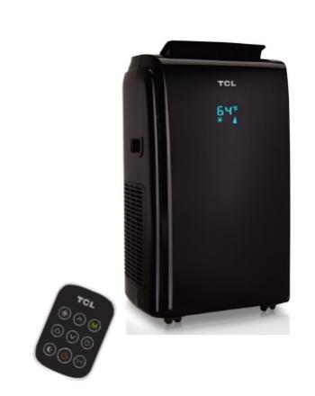 TCL mobiles Klimagerät K Serie | TAC-12CHPB/KB schwarz | 3,2 kW | R290