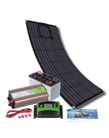 Solar Inselanlage | flexibles Set 500W | Strom erzeugen und speichern
