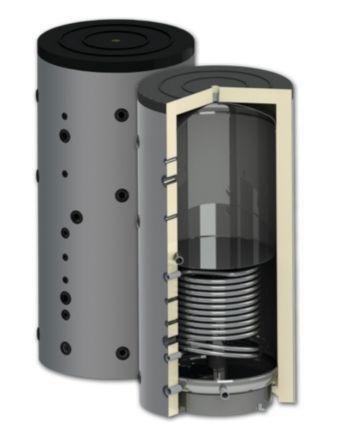 ThermoFlux | Schichten-Pufferspeicher SPBMR 1000 l | 1 Wärmetauscher