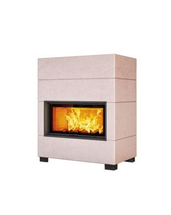 Austroflamm | Designkamin | Tony | Elementbauweise | 10 kW