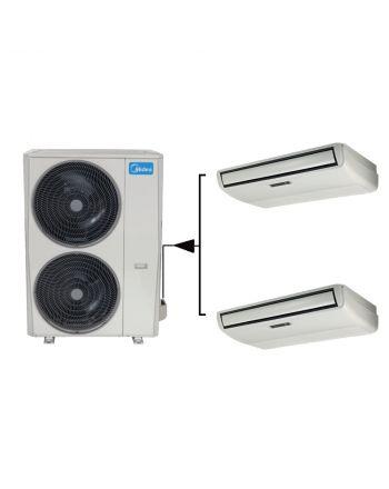 Midea Klimaanlage TWIN MUE-24FNXD0 Flextruhengerät 2x 7,0kW | 48000btu