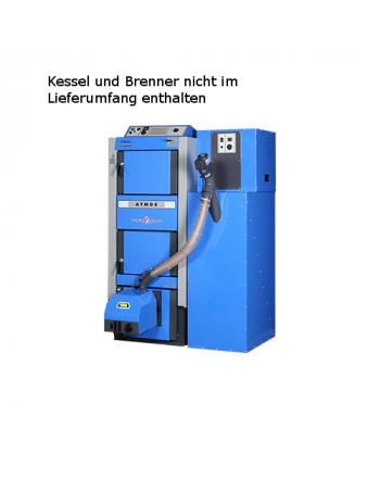 Atmos Platzsparsilo inkl. Förderschnecke 240 Liter - blau für A25 GSP