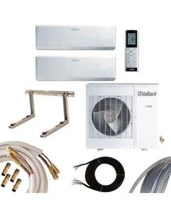 VAILLANT MultiSplit Klimaanlage 2 Innengeräte 18000 BTU | Quick-connect