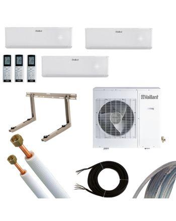 VAILLANT Split-Klimaanlage 2x2,7 kW und 1x3,5 kW | inkl. 5m Leitung