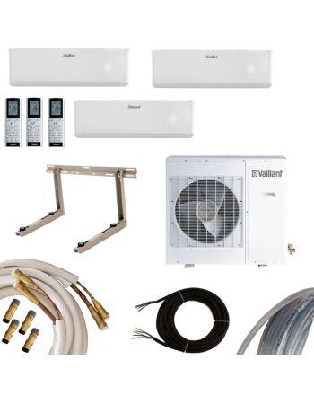 VAILLANT Klimaanlage MultiSplit-Set 2x2,7 kW + 1x3,5 kW | Quick-Connect
