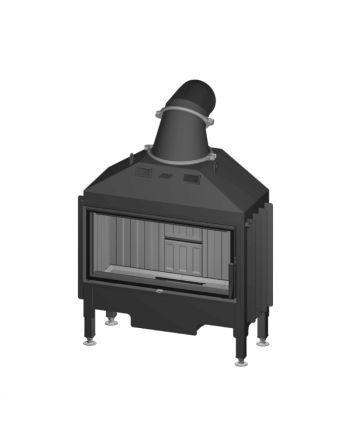Spartherm Kamineinsatz | Varia AS | 7,0 kW | einfache Verglasung | RLA