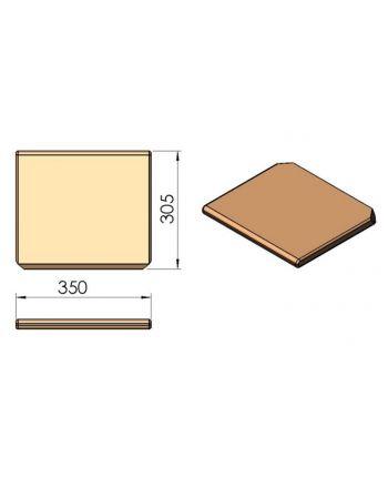 Termatech TT10 Vermiculite Umlenkplatte