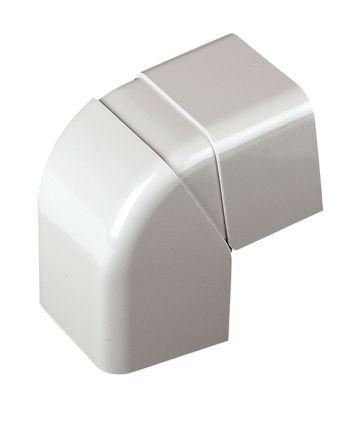 Verstellbare Inneneckhaube 80° - 105°   für Kabelkanal   80x60 mm
