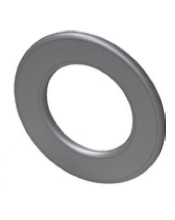 Wandrosette standard mit 55mm Randbreite für 160mm Rohre - gussgrau