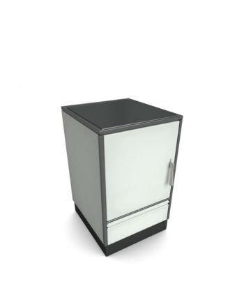 Holzherd Glutos HH03G ohne Sichtfenster, mit Glaskeramikkochfeld | 7kW