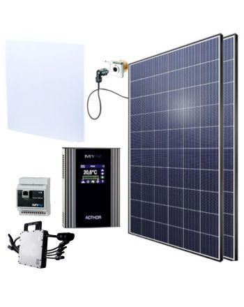 AC-Thor Set | Infrarotheizung mit Photovoltaik-Set | 1200 Watt