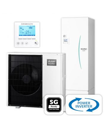 MITSUBISHI | Ecodan Wärmepumpen-Set 6.16 | Power Inverter | 8,0 kW