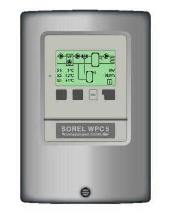 Sorel Wärmepumpenregler | WPC5 | wahlweise mit Fühler