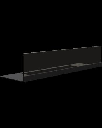Kratki Schutzglas Biokamin mit Bodenplatte | Quat Modell | QUAT/SZYBA