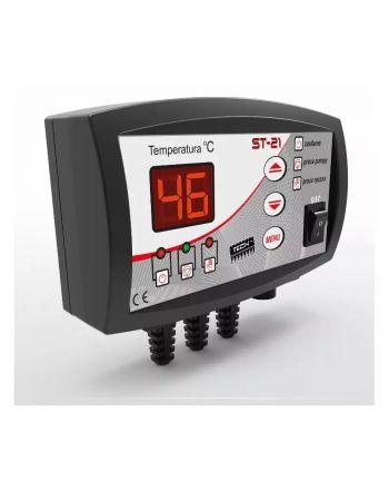 Steuergerät für Heizungspumpen ST-21 mit LED-Anzeige