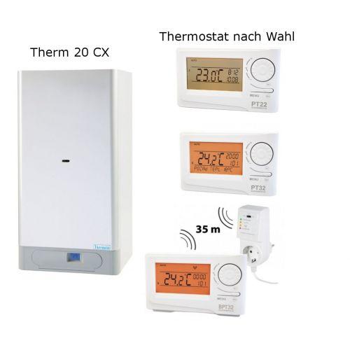 Gas Kombitherme Thermona Therm 20 CX mit einer Leistung von 8 - 20 kW
