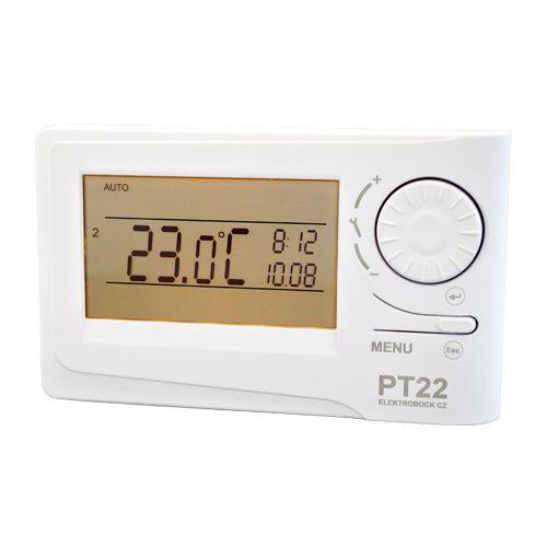 Digitales Raumthermostat PT 22   Für alle Kesseltypen PT22