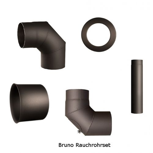 Rauchrohre Komplettset für Bruno Werkstattöfen