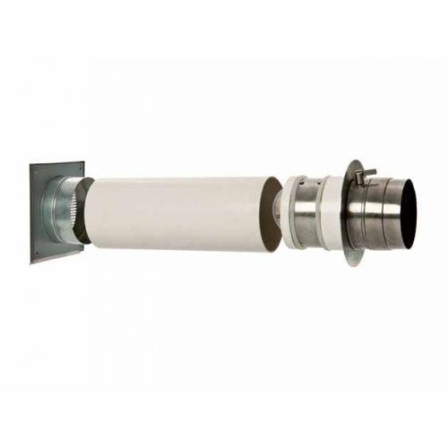CB Doppelklappe - Doppelklappenlsystem mit 80mm Anschlussstutzen