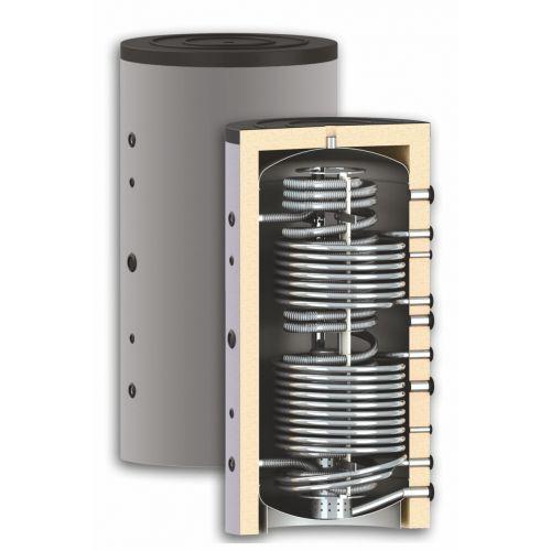 Thermoflux Hygiene Kombispeicher mit Wärmetauscher 1000 Liter HYGTKRR 2WT