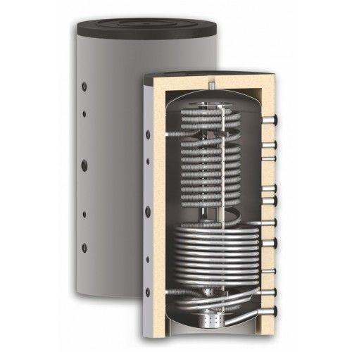 Thermoflux Hygiene Kombispeicher mit Wärmetauscher 1000 Liter HYGTKR 1WT