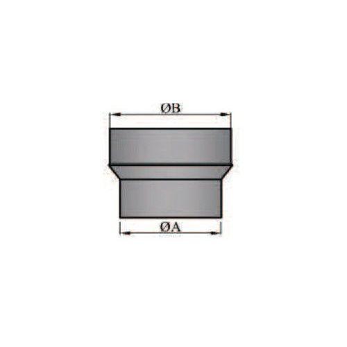 Rauchrohr/Ofenrohr Erweiterung 150/160mm