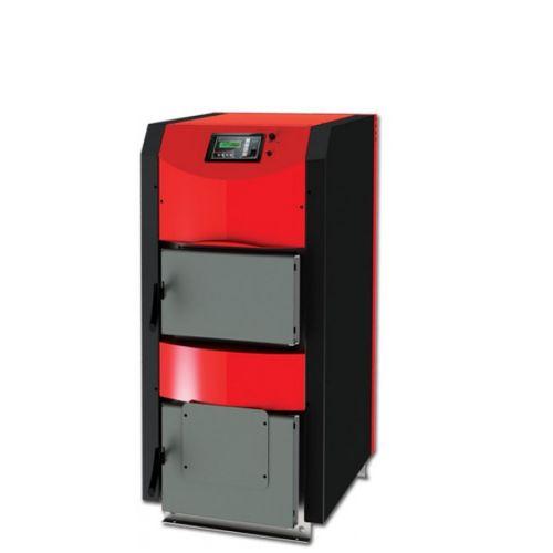 Scheitholzkessel ThermoFlux   Festbrennstoffkessel HKK Active   25 kW