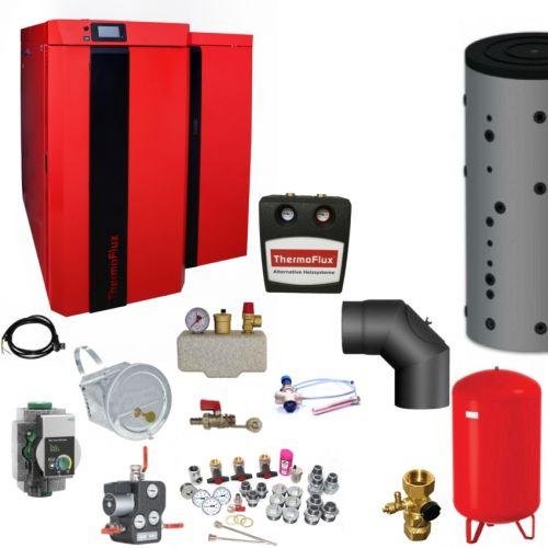 Thermoflux Kombikessel | Bafa | Pid Logic Kombi 45 kW | Komplettset 3