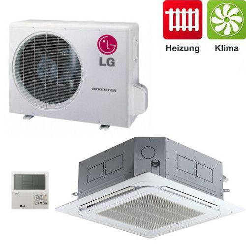Klimagerät H-Inverter LG 4-Wege Deckenkassetten CT18 SET 5,0 kW