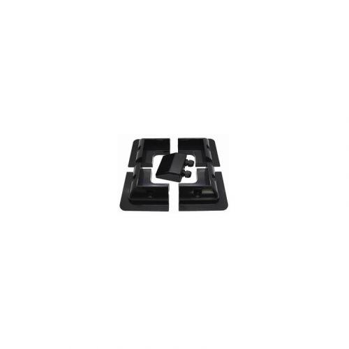 ABS Montagehalterungs Set | für Solar Module | Farbe Schwarz