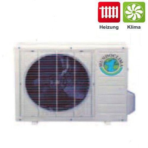 Klimagerät DC Inverter Außengerät Multi Combi für 3 Innenteile Mundoklima 8 kW