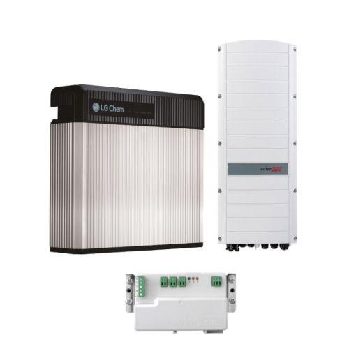 SolarEdge PV-Speicherset mit Hybrid Wechselrichter + LG Chem RESU 10