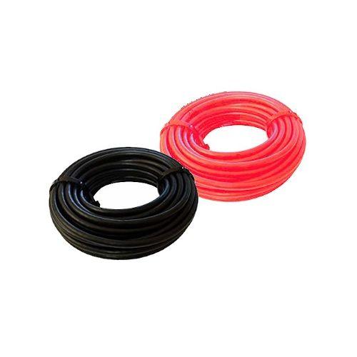 Solarkabel Rot/Schwarz  6,0 mm² (PV) | Meterware | EN 50619
