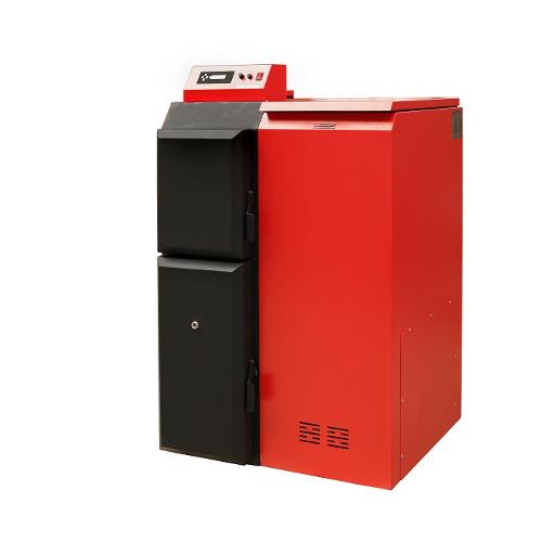 Pelletkessel Pelling 50 kW ECO - Behälter RECHTS