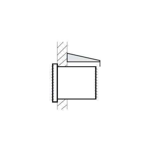 Regenschutzdach für Monoblock Klimageräte Fensterklimagerät