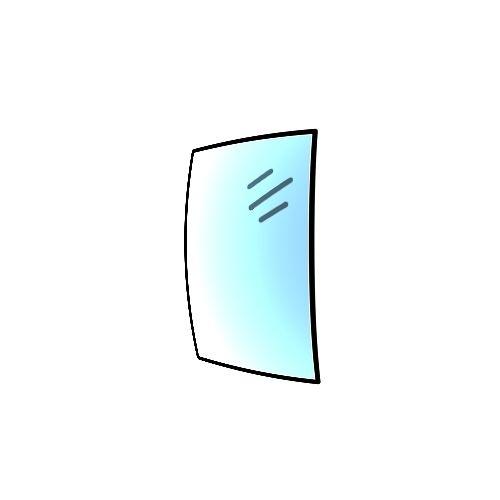 Glaskeramikscheibe für Spartherm Ambiente A4